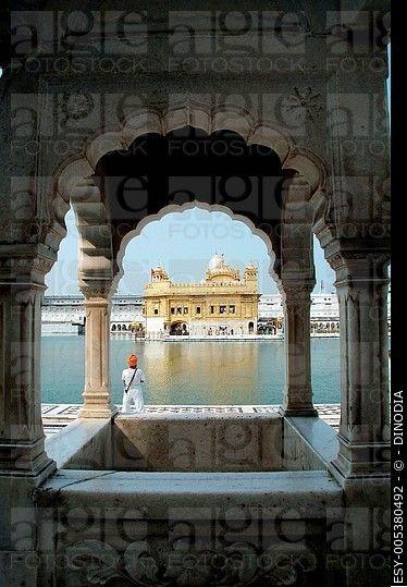 Golden temple ; Amritsar ; Punjab ; India