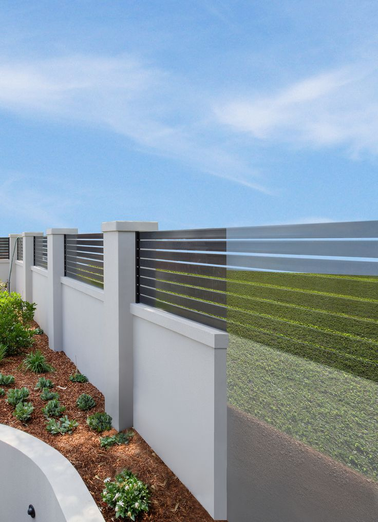 a ModularWall's retaining wall system easily holds back soil and integrates seamlessly with your outdoor style.