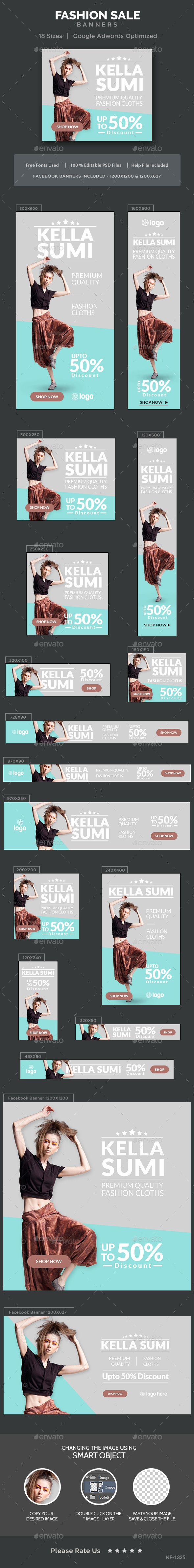 Fashion Sale Banners Template PSD. Download here: http://graphicriver.net/item/fashion-sale-banners/16431220?ref=ksioks