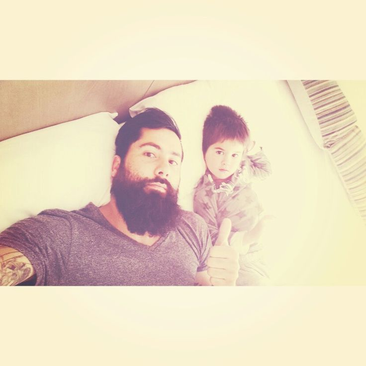 Bearded Father & Son!