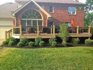 landscaping around decks  | New Landscaping around new deck