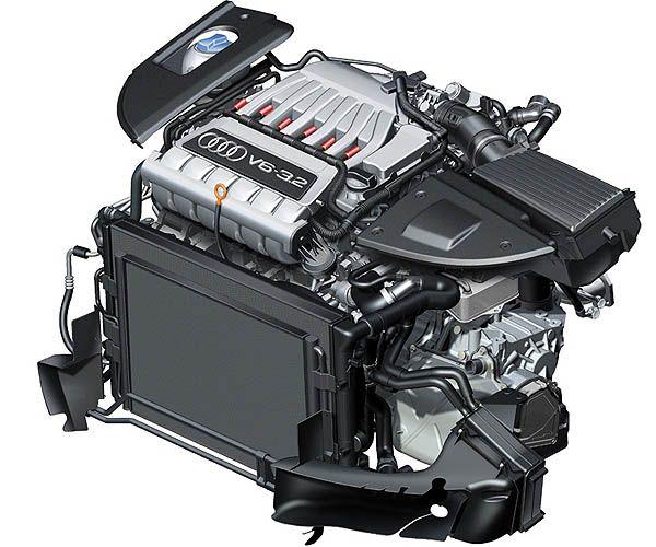 Audi TT 3.2 engine
