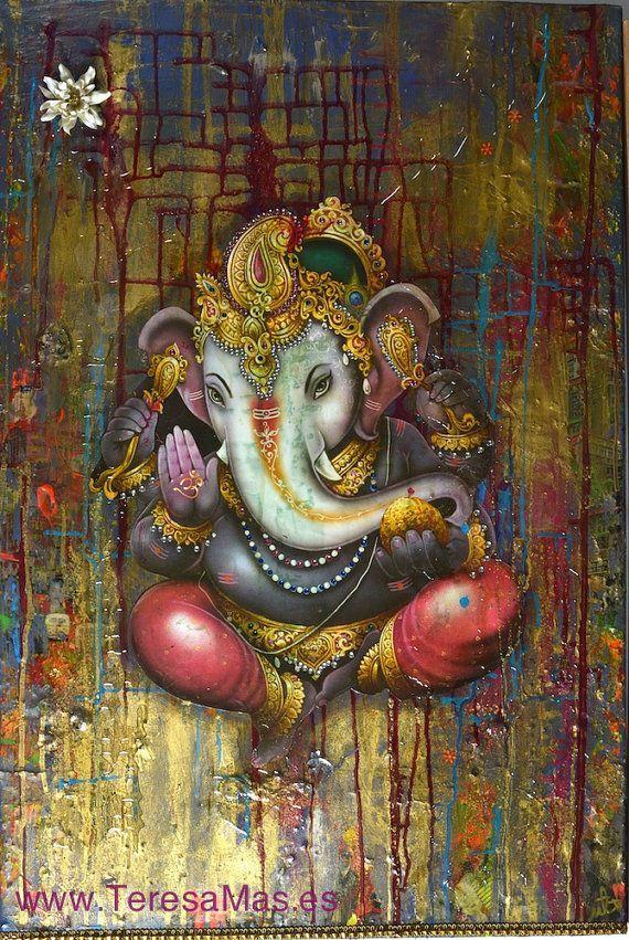 Art for my Dream Home - Ganesha by Teresagallery on Etsy, $3000.00: