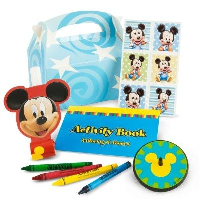 Mickey\'s 1st Birthday Party Favor Kit