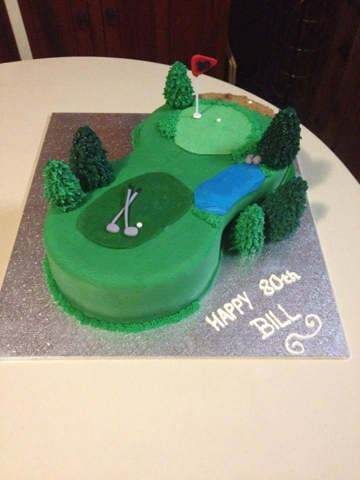 Golf Cake Becs Custom Creations on Facebook