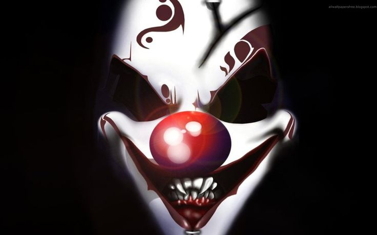 pictures of scary clowns - Google Search
