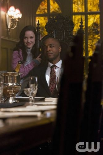 There Will Be Blood - (l-r): Laci J. Mailey as Emily, Rick Worthy as Alpha Vampire in SUPERNATURAL on The CW.  Photo: Jeff Weddell/The CW2012 The CW Network, LLC. All Rights Reserved.