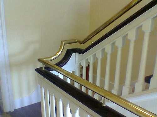 Best Brass Handrail Stair Railing Stairs Handrail 640 x 480