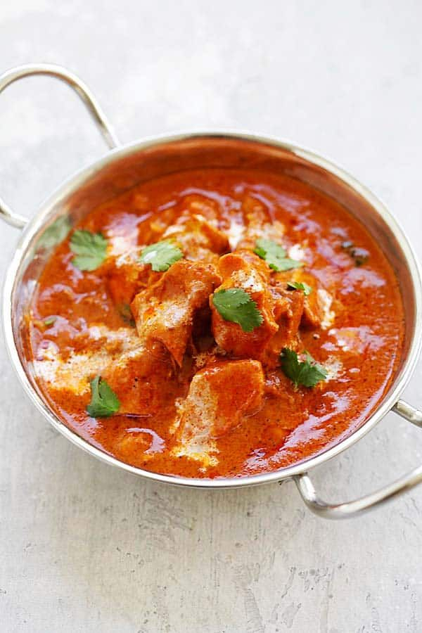 Instant Pot Butter Chicken - the best Indian butter chicken recipe with rich, creamy and delicious tomato butter chicken sauce   rasamalaysia.com