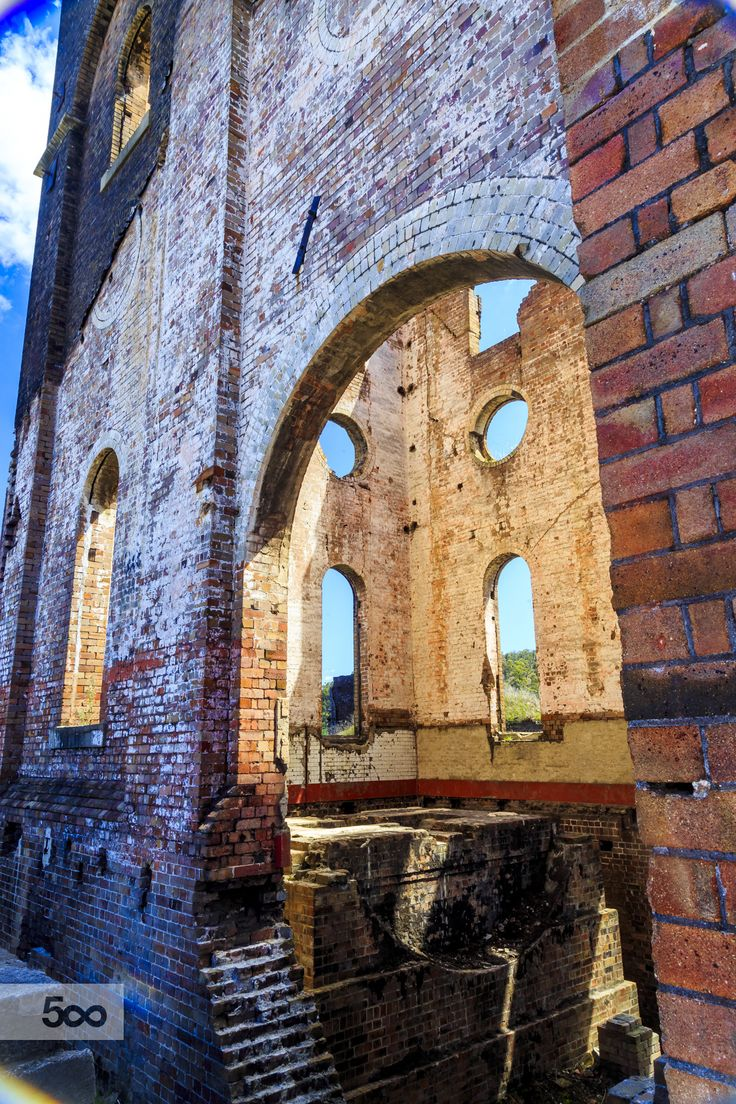 Lithgow Blast Furnace (of ) by Daniel Monro / 500px