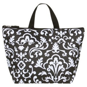 Thirty-One Thermal tote in Black Parisian Pop $18