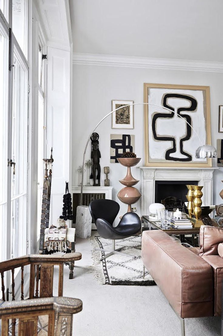 my scandinavian home The striking eclectic home