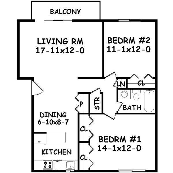 2 Bedroom Apartment Floor Plans Garage 86 best floor plans images on pinterest | garage apartments
