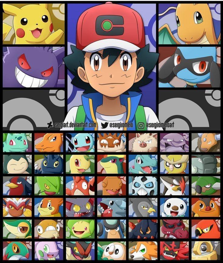 Pin By Josv On Pokemon Pokemon Ash Pokemon Pokemon Teams