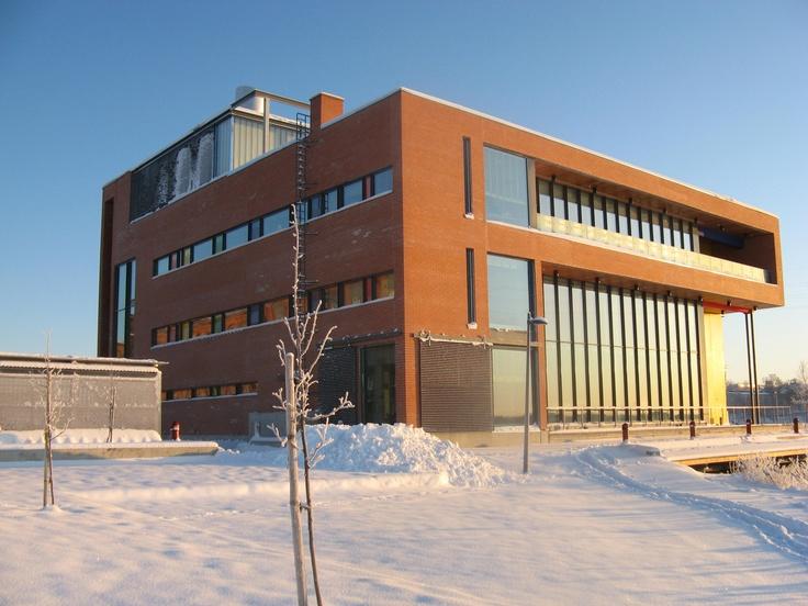 Domus Bothnica in winter  University of Vaasa  Pinterest  Winter