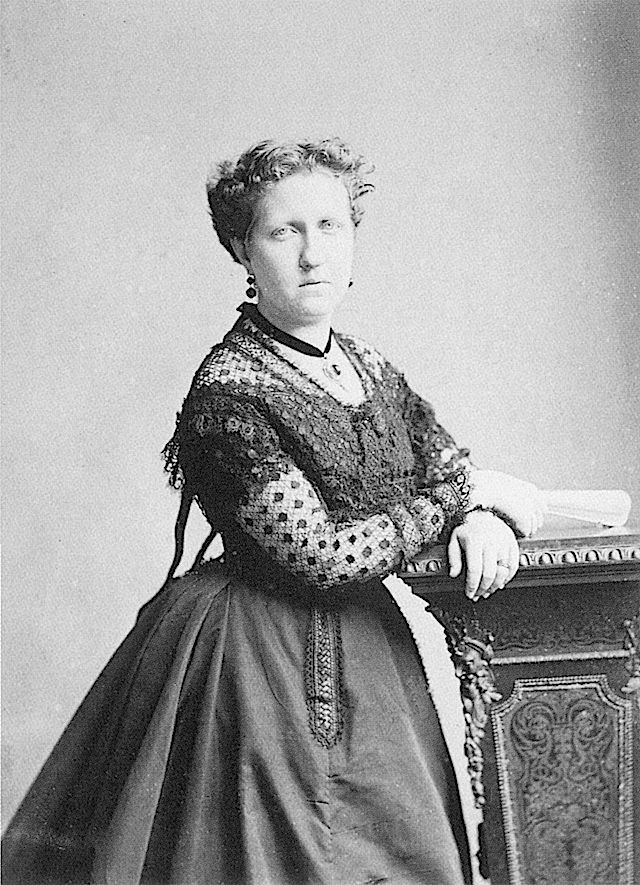 ca. 1870 Isabel, Princess Imperial of Brazil by Joaquim Insley