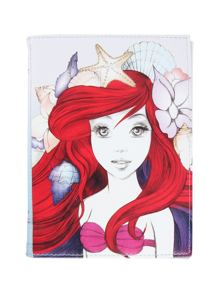 Disney The Little Mermaid sketch tablet case from Hot Topic