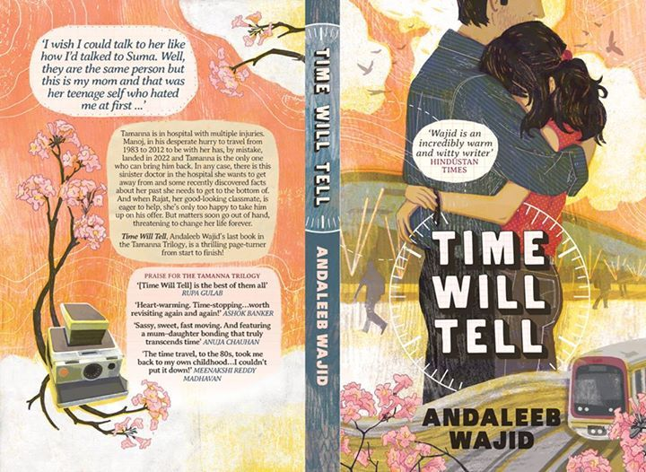 Time Will Tell, the last book in the series will be available in December!