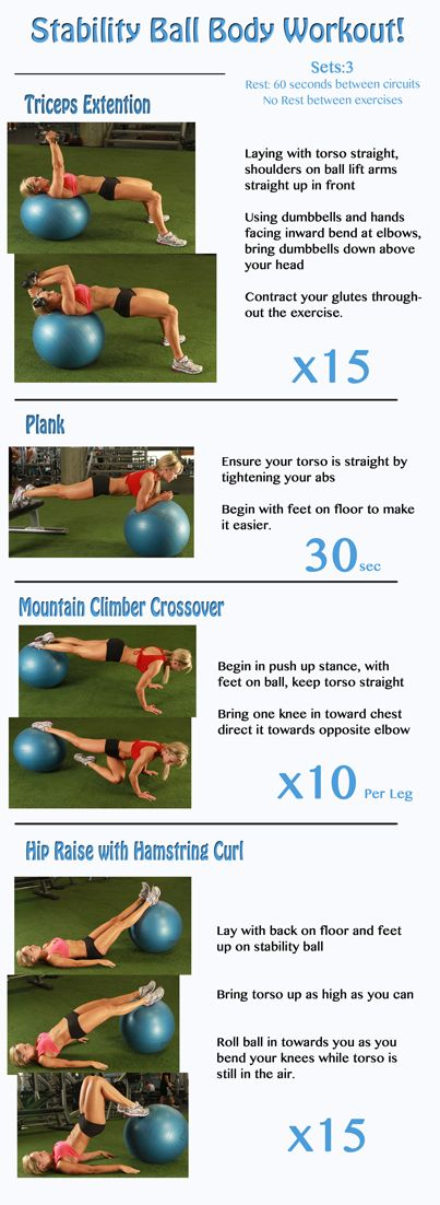 StabilityBall Workout Workouts For women!   Go to this site to get a bunch of FREE workouts and recipes: www.flaviliciousfitness.com