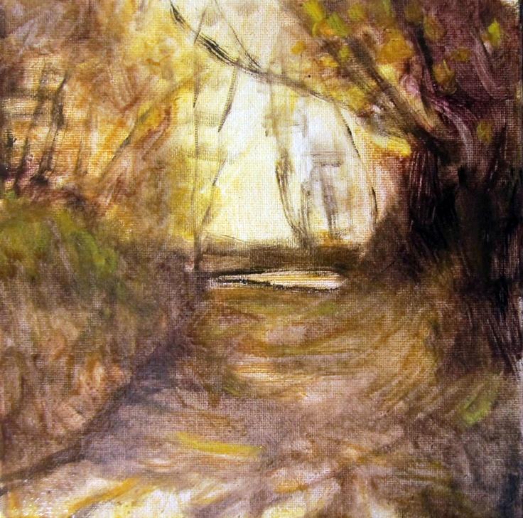Celeste BerginExcel Painting, Landscapes Art, Amazing Art, Beautiful Work, Trees Lin Paths, Celeste Bergin, Oil Painting