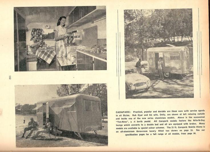Carapark: Caravan 1957