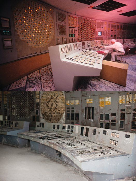 Chernobyl Then & Now