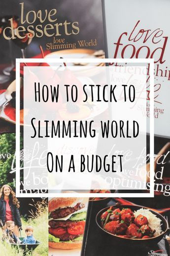 How to stick to Slimming World on a budget