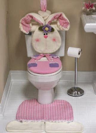 Mimundomanual: Funda para baño en fieltro con moldes