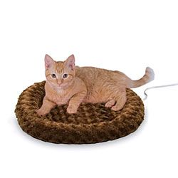 Thermo-Kitty Fashion Splash - Heated Cat Bed | CozyWinters
