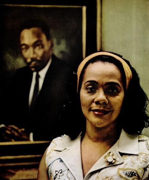 Coretta Scott King, 1970