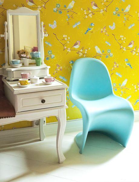 PiP Studio Behang - Early Bird Yellow