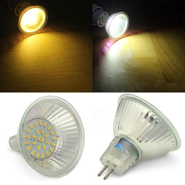 Mr16 3w Smd2835 Warm White White Led Spot Light Bulb Ac220v Mr16 Led Bulbs Led Spotlight Light Bulb