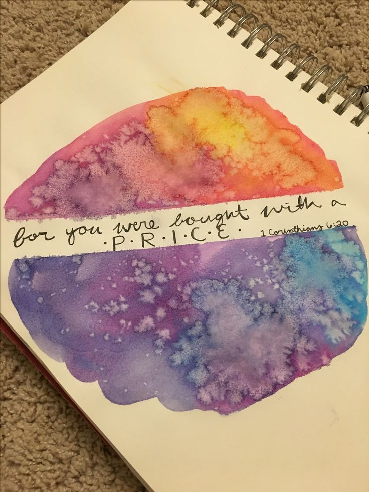 For you we're bought with a price, so glorify God with your body.