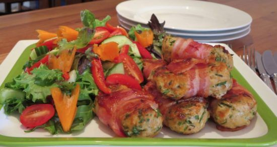 Bacon And Herb Chicken Rissoles Watch The Video