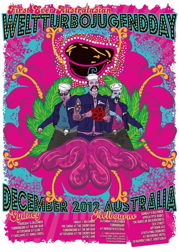 World Turbojugend Day Poster. Check it out on my website. www.aotearoa666.com  Cheers!