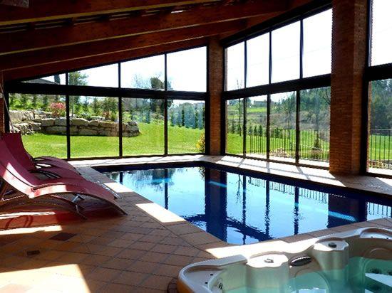 casa con piscina climatizada - Buscar con Google
