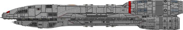 DeviantArt: More Collections Like Battlestar Atlantia - Athena Class by Phalanx-a-vian