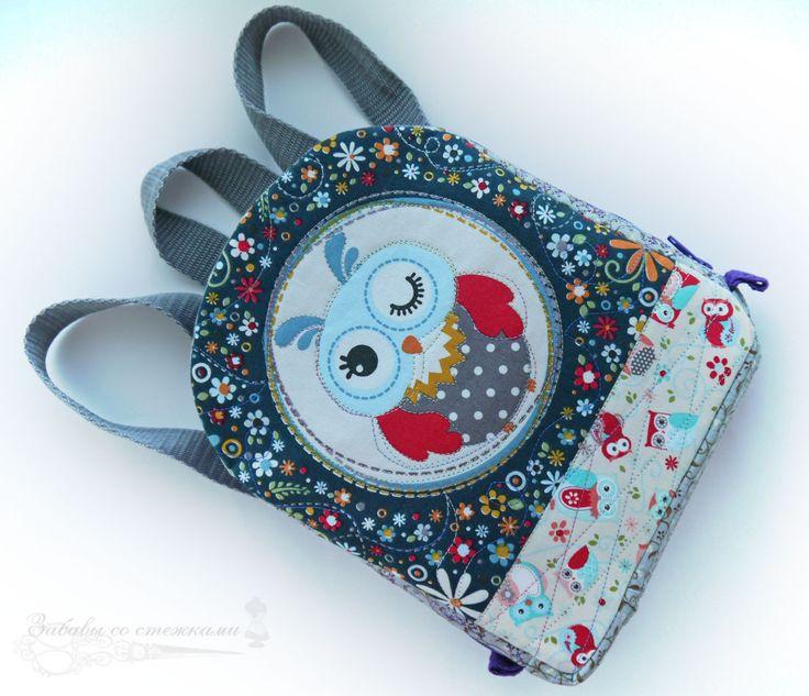 Детский рюкзак Совушка.