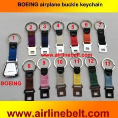 [ 24% OFF ] Boeing Logo Mini Airplane Airline Seat Belt Buckle Keychain Keyring  Keyholder Aircraft Buckle Key Ring Shipping Fre