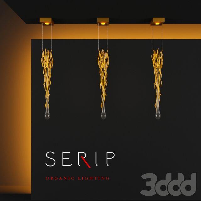 3d модели: Встроенные светильники - SERIP AQUA