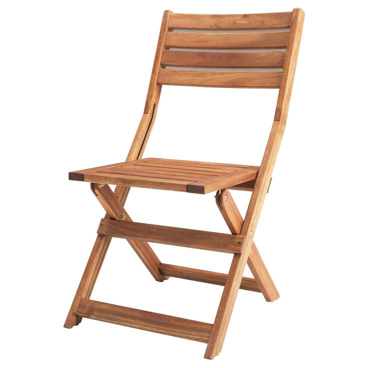 ÄPPLARÖ Folding chair