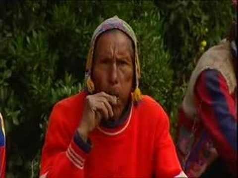 Willem Wever bij de indianen in Peru!