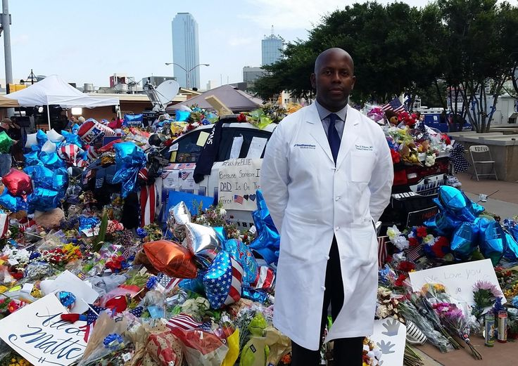 Dr. Brian Williams was one of the trauma surgeons treating wounded officers on July 7, 2016. His emotional statement at a later press conference went viral.