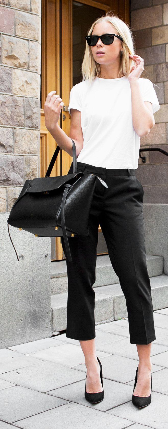 Black Crop Pants, Practical effortless chic