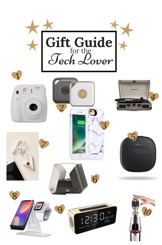 Christmas Tech Gifts 2019.Gift Guide For The Tech Lover Gift Ideas For Him In 2019 Tech