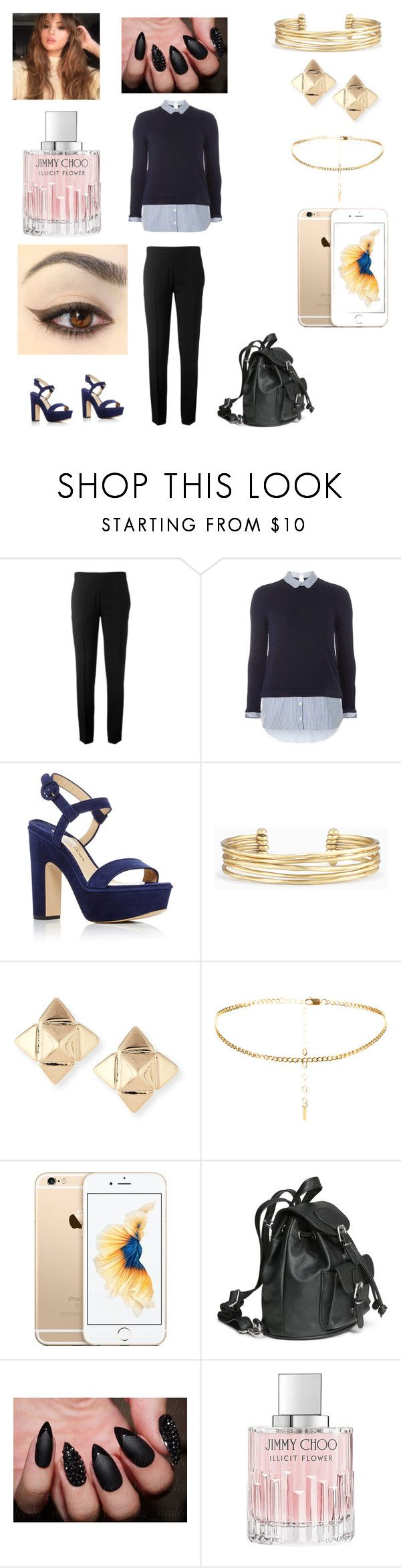 """""""Spencer hasting's"""" by jewjewbeans9 ❤ liked on Polyvore featuring Chloé, Dorothy Perkins, Paul Andrew, Stella & Dot, Valentino, H&M and Jimmy Choo"""