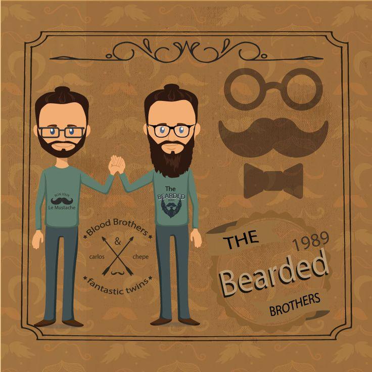 creando una postal para mi hermano gemelo en nuestro cumpleaños.