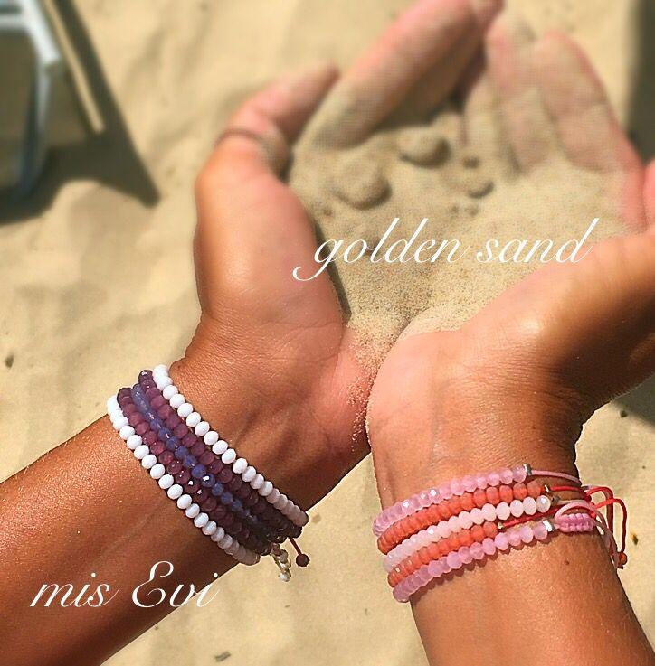 Golden sand!!!! Handmade bracelets
