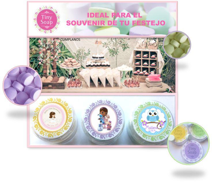 Si estas organizando un festejo, cumpleaños, bautismo, comunión Tiny Soap puede ser el SOUVENIR que te faltaba, personalizados como más te guste. https://www.facebook.com/pages/Tiny-Soap/288515951339203?ref=aymt_homepage_panel