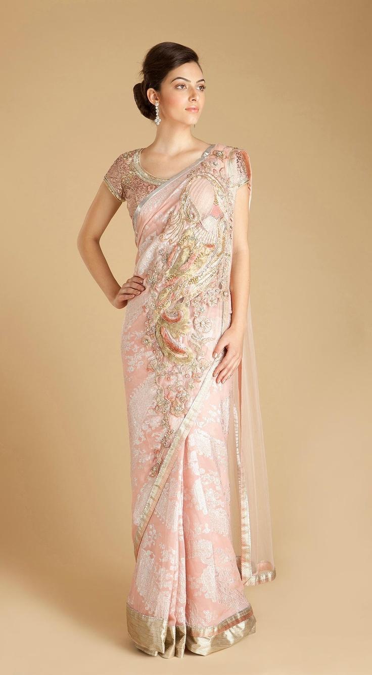Sari Inspired Wedding Dresses | Wedding Gallery